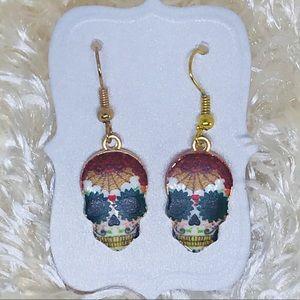 NWT {3 for $20} skeleton dangle earrings Halloween